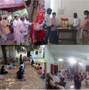 वीरांगना रानी दुर्गावती के पराक्रम को याद कर दीनदयाल शोध संस्थान ने ग्रामीण क्षेत्रों में मनाई जयंती