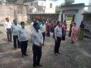 जब तक दवाई नहीं – तब तक ढिलाई नहीं, डीआरआई कार्यकर्ताओं ने ली शपथ