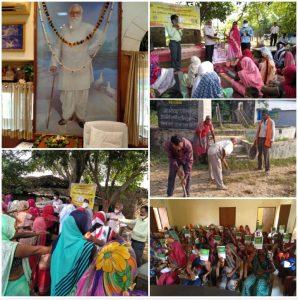 """नानाजी जयंती – 'तम्बाकू मुक्त समाज की शपथ' और 'सामूहिक श्रम साधना' के साथ """"ग्रामोदय पखवाड़ा"""" का समापन"""