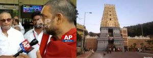 Attacks on Temples is very big loss to the entire nation -CHINAJIYYAR SWAMIJI