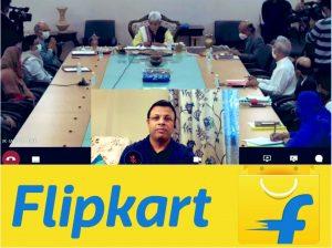 Jammu Kashmir – MoU with e-commerce company Flipkart to help artisans, weavers