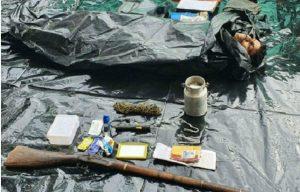 सुरक्षा बलों ने बीजापुर में मुठभेड़ में एक लाख का ईनामी माओवादी मार गिराया
