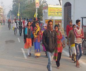 #Ayodhya – रामनगरी की 14 कोसी परिक्रमा उत्साह के साथ संपन्न