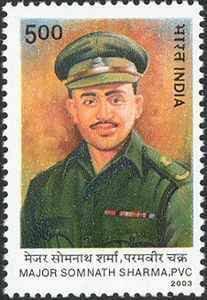 Gallantry of Major Somnath Sharma saved Srinagar airport