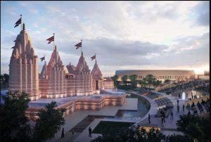 अबू धाबी में बन रहे हिन्दू मंदिर का अंतिम डिजाइन जारी