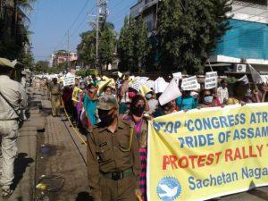 Assam – Thousands rally demanding Arnab Goswami's release