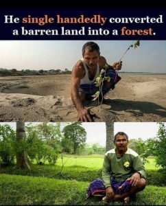 Forest Man of India PadmaShri Jadav Payeng in US school's curriculum