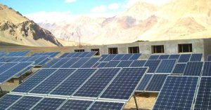 Solar Energy – Laddakh has got the largest solar power project
