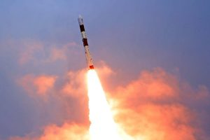 ISRO – India launches earth observation satellite and 9 foreign satellites