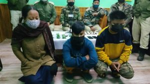 Three women NRFM cadres held in Manipur, explosives recovered