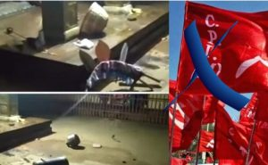11 ruling CPM party workers arrested in temple demolition case