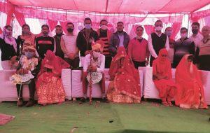अनूपगढ़ – श्रीराम जानकी सामूहिक विवाह समारोह संपन्न