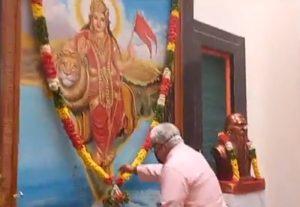 Sarkaryavah Bhaiyyaji Joshi inaugurates statue's of Dr. Hedgewar Ji, Shri Guru Ji