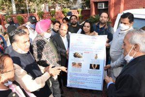 दिल्ली – भारत विकास परिषद की मोबाइल टेस्टिंग वैन समर्पित