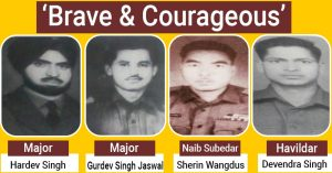 #VijayDiwas – Remembering the Heroes of the Indian Army martyred on 10 Dec, 1971