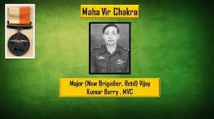 #VijayDiwas – Major Vijay Kumar Berry who freed the Indian Territory on Western Sector