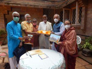 गजपति महाराज दिव्य सिंह देव के कर कमलों से निधि समर्पण व संपर्क अभियान का शुभारंभ