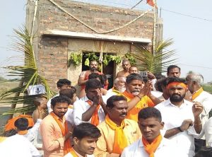 Andhra Pradesh – With the blessings of Poojya Chinna Jiyar Swami, the Dharm jagran Samiti restored the ruined temple