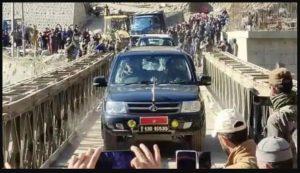 सीमा सड़क संगठन – 110 फीट लंबा वेली पुल रिकॉर्ड 60 घंटे में तैयार किया