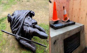 Statue of Mahatma Gandhi vandalised in US, India condemns vandalisation