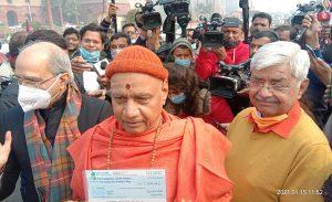 राष्ट्रपति की शुभकामनाओं के साथ प्रारंभ हुआ श्रीराम मंदिर निधि समर्पण अभियान
