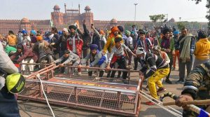 Red Fort Violence – 200 artists, including kids, rescued after being stranded near Red Fort for two hours