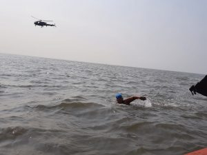 FIT India Movement – Jiya Rai, a 12 years old naval child, Swims 36 kilometers to create awareness about Autism Spectrum Disorder