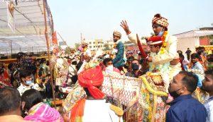 सेवा भारती – सर्वजातीय सामूहिक विवाह सम्मेलन में 18 बेटियों के हाथ पीले