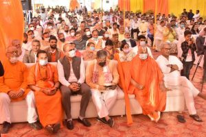 भारत को आध्यात्मिक स्वतंत्रता दिलानी है – जगद्गुरु रामभद्राचार्य जी