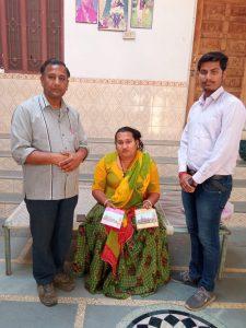श्रीराम मंदिर के लिए किन्नर सारिका ने दी समर्पण निधि