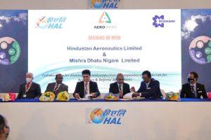 Hindustan Aeronautics signs MoU with Mishra Dhatu Nigam to manufacture composite raw materials