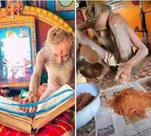 भक्तों से 10₹ से अधिक दान स्वीकार नहीं करते, श्रीराम मंदिर के लिए 2.5 लाख समर्पित किए