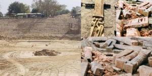 अयोध्या – श्री राम जन्मभूमि परिसर में खुदाई के दौरान मिलीं मूर्तियां व चरण पादुका, संग्रहालय में होंगी संरक्षित