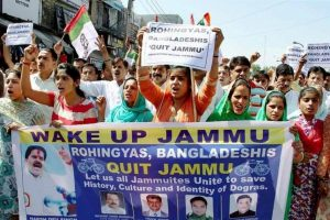 Jammu Kashmir – Supreme Court refuses to hear UN Special Rapporteur on Deportation of illegally staying Rohingyas