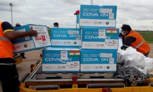 #VaccineMaitri – India provides 1,00,000 doses of Covaxin to Paraguay