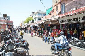 राजस्थान – शहरों, कस्बों व गांवों में बेअसर रहा बंद