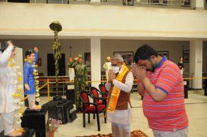 बलिदान दिवस पर प्रताप गौरव केंद्र में पुष्पांजलि कार्यक्रम