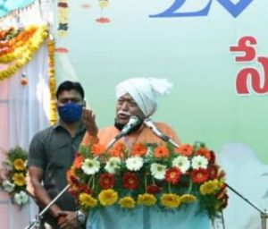 Organic farming takes farmers towards self-reliance – Dr. Mohan Ji Bhagwat