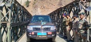 बीआरओ ने उत्तराखंड के चमोली जिले के 13 सीमावर्ती गांवों का रिकॉर्ड समय में संपर्क बहाल किया, रेनी गांव में 200 फीट बेली ब्रिज का उद्घाटन किया
