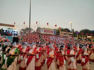 असि घाट पर 1008 महिलाओं ने किया 'शिव तांडव स्तोत्र' का जाप