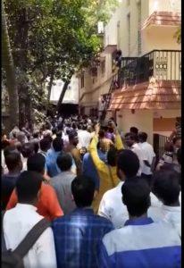 Swayamsevaks attacked by DMK, complaint registered