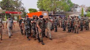 Chhattisgarh – Kilometre-long Maoist ambush kills 22 jawans