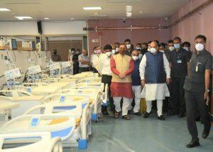 Ahmedabad – DRDO sets up Dhanvantari Covid Hospital in a short span of 10 days