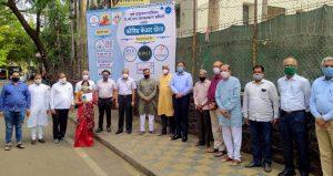 RSS Jankalyan Samiti Opens 450 Beds Covid Care Centre