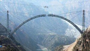 चिनाब पर बन रहे ब्रिज के आर्क का काम पूरा, विश्व के सबसे ऊंचे ब्रिज में दिखेगी भारतीय इंजीनियरिंग