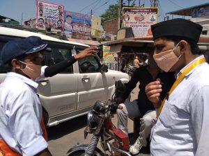 हरिद्वार महाकुंभ – 1500 से अधिक संघ स्वयंसेवक लग्न व निष्ठा से प्रशासन के सहयोग में जुटे