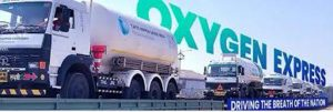 20 Oxygen Expresses complete their journey, delivering 1125 MT (approx.) LMO in 76 tankers