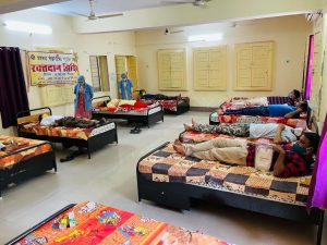 17300 beds arranged in Isolation and covid care centers run by Seva Bharati