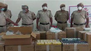 दिल्ली पुलिस ने छापेमारी कर लोधी कॉलोनी व खान मार्केट से 525 ऑक्सीजन कंसंट्रेटर बरामद किए