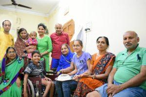 दृढ़ इच्छाशक्ति के बल पर परिवार ने कोरोना को मात दी